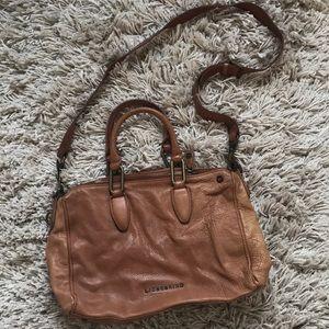 Brown leather Liebeskind bag